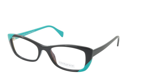 Face A Face Eyeglasses Frame WINDS 2 Col. 100 Acetate Black