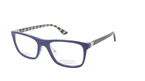 Face A Face ALIUM SKY 2 4013 Navy Blue Light Mauve Eyeglasses France