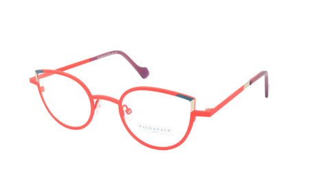 Face A Face Eyeglasses Frame YUMMI 2 Col. 9404 Acetate Poppy Navy Gold Violet