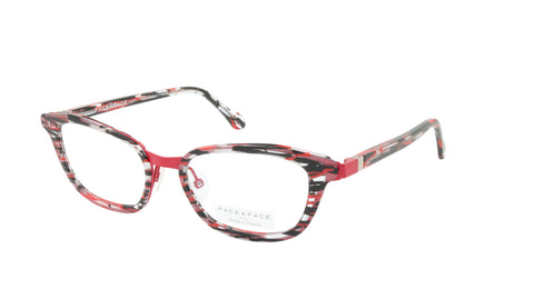 Face A Face Eyeglasses Frame IMANE 1 Col. 982M Acetate Metal Matte Cherry Red