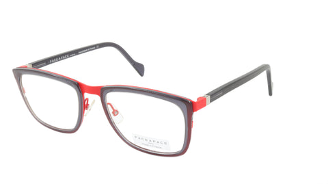 Face A Face Eyeglasses Frame VIGGO 2 Col. 9280 Acetate Metal Marr Red Dark Viole
