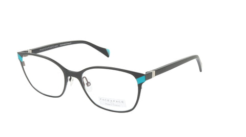 Face A Face Eyeglasses Frame ZOOEY 2 Col. 9399 Acetate Metal Matte Black