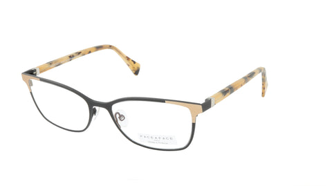 Face A Face Eyeglasses Frame SANDS 3 Col. TM01 Acetate Metal Matte Black Satin