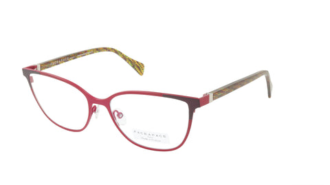 Face A Face Eyeglasses Frame SANDS 1 Col. 9298 Acetate Metal Raspberry Pink