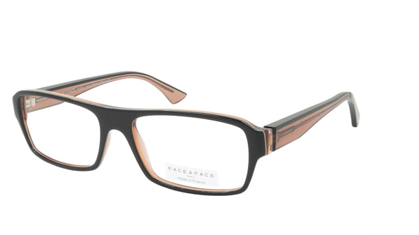 Face A Face Eyeglasses Frame SOLAL 3 Col. 403 Acetate Black Rev Yellow Praline