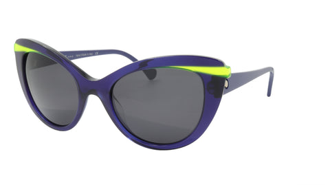 Face A Face Sunglasses Frame SHINE 2 Col. 008 Acetate Ink Blue Flourescent Yello