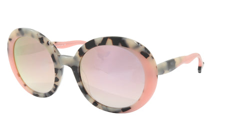 Face A Face Sunglasses Frame BOCCA MOON 1 Col. 7407 Acetate Pink Camofaluge