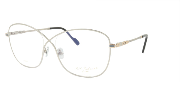 Paul Vosheront Eyeglasses Frame Gold Plated Metal Acetate Italy PV394 C2