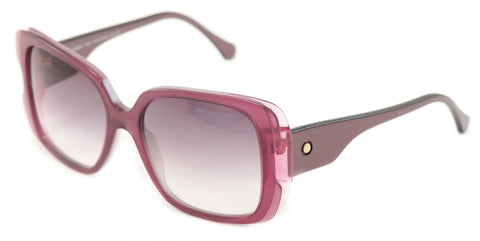 Image of Face A Face Sunglasses Frame Paris Moons 1 474 Violet Plastic Italy Hand Made