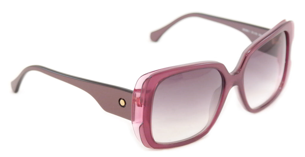 Face A Face Sunglasses Frame Paris Moons 1 474 Violet Plastic Italy Hand Made