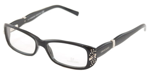 Swarovski Eyeglasses Frame Brooklyn SW5057 Black Plastic Italy Made 53-15-135 - Frame Bay