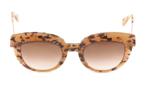 Face A Face Sunglasses Dolce 1 2231 Havana Safari Plastic Metal Italy Hand Made