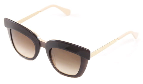 Image of Face A Face Sunglasses Dolce 2 3141 Dark Mauve / Opaque Nude Plastic Metal Italy