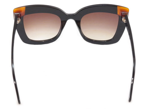 Image of Face A Face Sunglasses Poppy 2 053 Black Demi Blonde Totortoise Italy Hand Made
