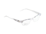 John Galliano Eyeglasses Frame JG5003 024 Plastic Black White On Newspaper Italy - Frame Bay
