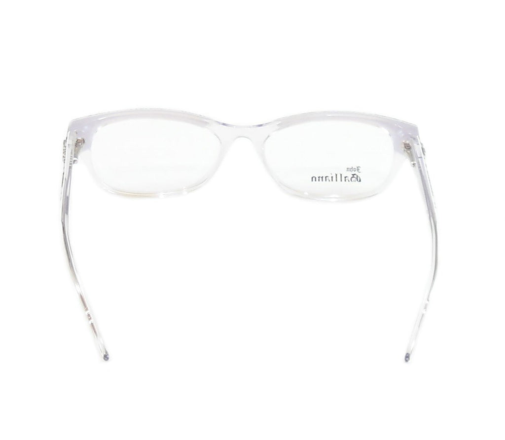 John Galliano Eyeglasses Frame JG5003 024 Plastic Black White On Newspaper Italy