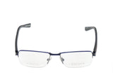 OGA Morel Eyeglasses Frame 74140 NR050 Matte Black Plastic Metal France Made - Frame Bay