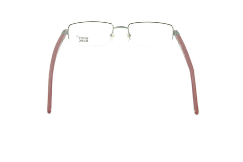 Image of Mont Blanc Eyeglasses Frame MB342 008 Gunmetal Bordeaux Metal Rubber Italy Made