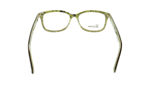 John Galliano Eyeglasses Frame JG5011 056 Havana Brown Over Green News