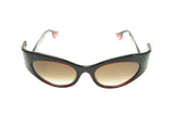 Face a Face Bocca Rock 3 400 Limited Edition Sunglasses Black Red Acetate Italy Hand Made