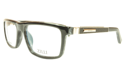 Image of ZILLI Eyeglasses Frame Acetate Leather Titanium France Hand Made ZI 60002 C02