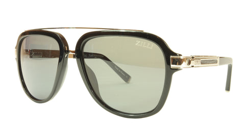 ZILLI Sunglasses Polarized Hand Made Acetate Titanium France ZI 65006 C01