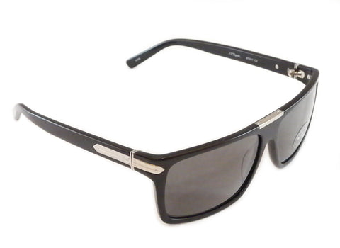 Image of S. T. Dupont Sunglasses ST011 Polarized Plastic Italy 100% UV 3 Lenses 58-14-135