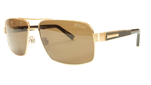 ZILLI Sunglasses Titanium Hand Made Acetate Polarized France ZI 65001 C01