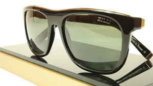 ZILLI Sunglasses Polarized Hand Made Acetate Titanium France ZI 65004 C01 151