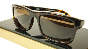 ZILLI Sunglasses Polarized Hand Made Acetate Titanium France ZI 65009 C02 101