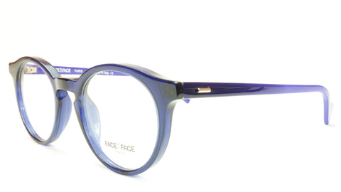 Face A Face KAREL 1 Col 008 Ink Blue Eyeglasses Italy Hand Made - Frame Bay