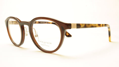 Face A Face ALIUM SKY 4 Col 222 Chestnut Brown Eyeglasses France Made - Frame Bay
