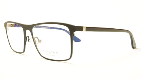 Face A Face LAKER 2 TM01 Aluminum Eyeglasses Black Royal Blue France - Frame Bay