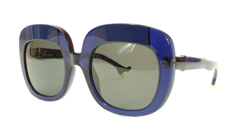 Face A Face Sunglasses Frame BOCCA Lova 1 008 Acetate Navy Blue Italy Hand Made - Frame Bay
