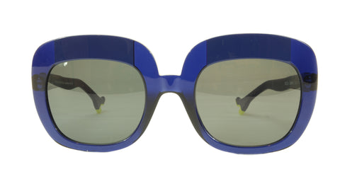 Image of Face A Face Sunglasses Frame BOCCA Lova 1 008 Acetate Navy Blue Italy Hand Made
