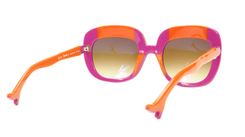 Face A Face Sunglasses Frame BOCCA Lova 1 4026 Acetate Fuschia Orange Italy Made