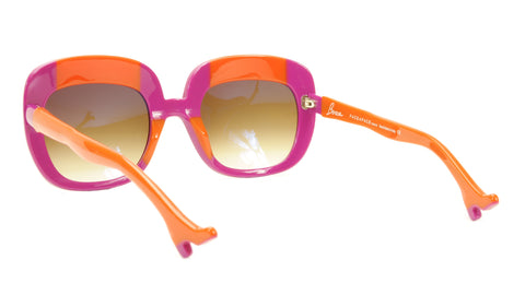 Image of Face A Face Sunglasses Frame BOCCA Lova 1 4026 Acetate Fuschia Orange Italy Made