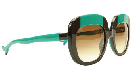 Image of Face A Face Sunglasses Frame BOCCA Lova 1 4027 Acetate Black Emerald Italy Made