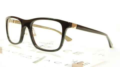 Face A Face ALIUM SKY 2 Col. 100 Acetate Black Eyeglasses France Made - Frame Bay
