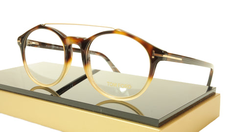 Tom Ford Authentic Eyeglasses Frame TF5455 056 Havana Italy Made 52-20-145