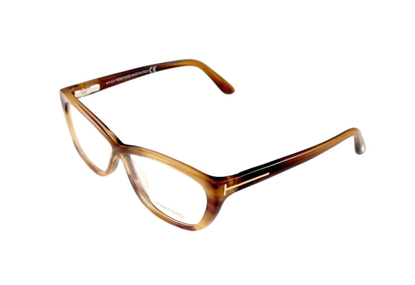 Tom Ford Eyeglasses Frame TF5227 050 Brown Gradient Plastic Italy Made 54-10-130 - Frame Bay