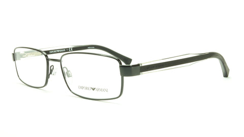 Emporio Armani EA1002 3014 Eyeglasses Frame Acetate Black Transparent Crystal - Frame Bay