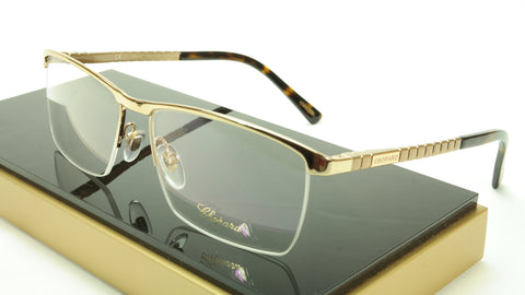 Chopard Eyeglasses Frame VCHA79 0300 Gold Brown Tortoise Italy Made 57-16-140 - Frame Bay