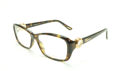 Chopard Eyeglasses Frame VCH 140S 0722 Acetate Tortoise Italy Made 55-15-140 - Frame Bay