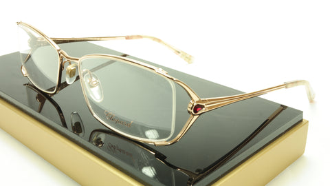 Chopard Eyeglasses Frame VCH 946S 8FCX Gold Plated Metal Italy Made 55-18-135 - Frame Bay