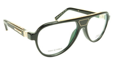 Image of ZILLI Eyeglasses Frame Acetate Leather Titanium France Hand Made ZI 60000 C03