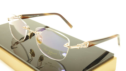 Paul Vosheront PV362 C1 23KT Gold Plated Eyeglasses Frame Italy Made - Frame Bay