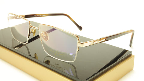 Paul Vosheront PV366 C1 23KT Gold Plated Eyeglasses Frame Italy Made - Frame Bay