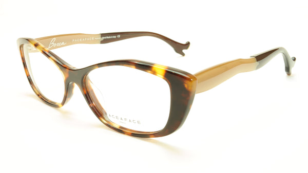Face A Face Bocca Sexy 4 Col 482 Dark Red Papaya Yellow Eyeglasses - Frame Bay