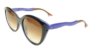Face A Face Bocca Sixties 3 2146 Sunglasses Ink Majorelle Blue Italy Hand Made